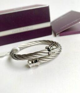 Charriol * Bangle Celtic Grey PVD Stainless Steel & Titanium 04-101-1217-0S