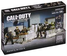 *Mega Bloks* Call of Duty *SNIPER UNIT* 06854 BRAND NEW Sealed NIB