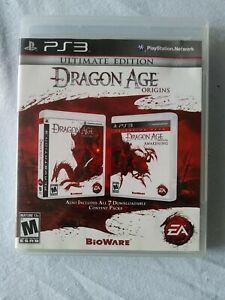 PlayStation 3 PS3 - Dragon Age: Origins - Ultimate Edition COMPLETE CiB