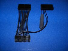ALL BLACK DUAL POWER SUPPLY ADAPTER WITH DUMMY LOAD ON  +3.3V ---MADE IN USA