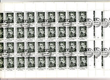 CCCP 9 Feuilles Sheets 36TP/stamps 1988 centenaire naissance M.I. LATSIS URSS