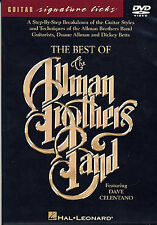 Best Of The Allman Brothers Band Guitar Signature Licks Play Music DVD