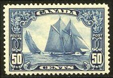 CANADA #158 Mint VF - 1929 50c Bluenose