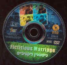Fictitious Marriage DVD Movie Dark Comedy Tel Aviv