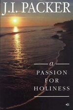 A Passion for Holiness, Good Condition Book, J. I. Packer, ISBN 9781856840439