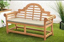 Garden Seat/bench With Stone Lion Base Northenden M22