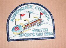 1965 Adirondack Council Winter Sports Day Patch 81