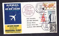 Air New Zealand Dc-8 Inaugural Flight Pago Pago / Aucland Scarce!