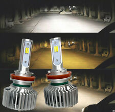 FOG LIGHTS 30W X2 LED T5 H11 Bulbs HIGH POWER CSP 3 Color 3MS W1 A