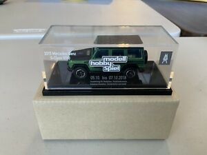 Matchbox Special Mercedes Benz Produced For Leipzig Toy Show 2018 Green Body