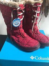 Columbia MINX MID II OMNI-HEAT Waterproof Women Winter Boots NEW Size 10