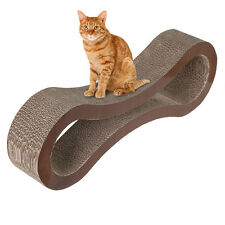 Cat Scratcher Kitten Lounge Catnip Bed Pad Pet Scratching Kitty Bed Toy