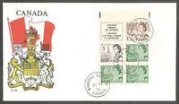 CANADA FDC.1971 CENTENNIAL DEFINITIVES BOOKLET CANADA SC #454,456,543 K BILESKI