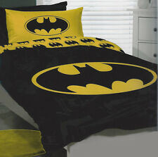 Batman Duvet | Doona Quilt Cover Set | Dc Comics | Us Twin | Single