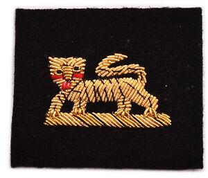 Tiger Arm, No.1 Dress, Badge Wire Bullion, LI-EMB-0113