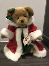Boyds Bear Retired Isabella Merrybright 14� Limited Holiday Edition with Stand