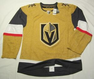 VEGAS GOLDEN KNIGHTS size 54 = XL - 2021 Alternate 3rd ADIDAS NHL HOCKEY JERSEY