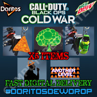 Call Of Duty Black Ops Cold War DoritosDewDrop Doritos Dew Charm MEGA BUNDLE