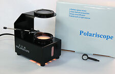 Gem Table Top Polariscope with gem clip!  *NEW*  black