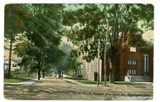 Wappingers Falls NY -SOUTH AVENUE AT PROSPECT STREET-Postcard Dutchess County