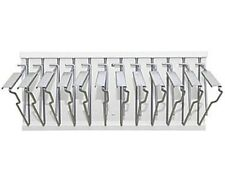 AdirOffice White Pivot Wall Blueprint Plans Document Rack with 12 Hangers
