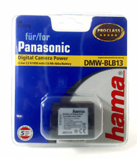 Hama DP 370 Li-Ion Battery Pack Panasonic SMW-BLB13 7.2 V/1050mAh