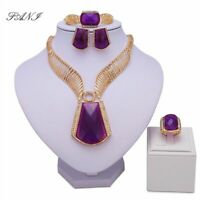 Necklace And Bracelet Set For Women Bridal Wedding Jewelry Fashion African Beads