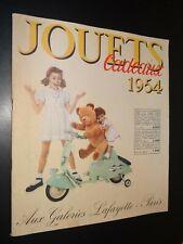 CATALOGUE JOUETS CADEAUX 1954 - GALERIES LAFAYETTE PARIS