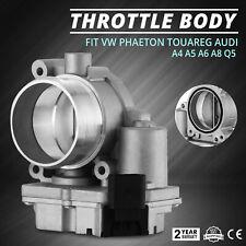 Throttle Body fit Audi A4 A5 A6 Q5 Q7 VW Phaeton Touareg Top OEM Front 2.7TDI
