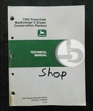 JOHN DEERE 7200 FRONT-FOLD MAXEMERGE 2 DRAWN CONSERVATION PLANTER SERVICE MANUAL