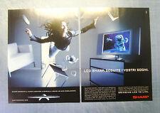 BELLEU999-PUBBLICITA'/ADVERTISING-1999- SHARP LCD