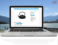 ebayVorlage 2020 Template Design Vorlage Business hellblau kein Werbehinweis