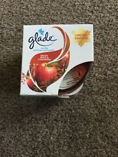 New Glade Spiced Apple & Cinnamon Candle