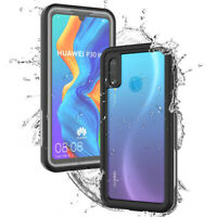 For Huawei P30 Pro P20 Mate 20 Pro Waterproof Underwater Dustproof PC Case Cover