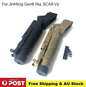 Grenade Launcher Accessories For JinMing M4 SCAR V2 Nylon Gel Ball Blaster Toy