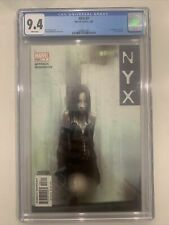 Nyx #3 Cgc 9.4 1st App Of X-23 Laura Kinney White Pages