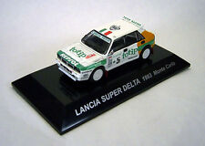 1/64 CMs RALLY CAR COL SS5 Diecast Figure LANCIA SUPER DELTA 1993 Monte Carlo