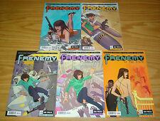 Rashida Jones' Frenemy of the State #1-5 VF/NM complete series  oni comics 2 3 4