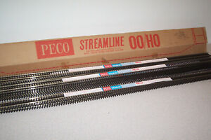 OO GAUGE PECO BULLHEAD TRACK - BOX OF 25 LENGTHS.