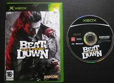 JEU Microsoft XBOX : BEAT DOWN Fists of vengeance (Capcom, envoi suivi)