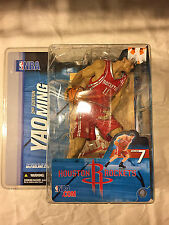 McFarlane NBA Basketball Yao Ming Houston Rockets Action Figure RED SHIRT VERSIO