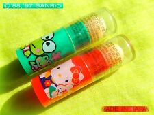 🐸 Vintage SANRIO KEROPPI HELLO KITTY 1997 Petite LIP GLOSS collezione *SEALED*