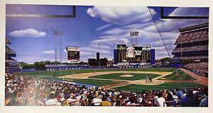 New York Mets 1991 Shea Stadium Matinee Print Pencil Signed Artist Bill Feldman