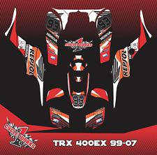 Honda TRX 400 400ex 99-07 ATV SEMI CUSTOM GRAPHICS KIT REPSOL