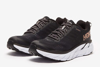 Hoka One One Clifton 6 Women's Running Shoes Black Road Run Shoes - 1102873-BRGL
