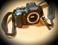 Olympus EVOLT E-500 8.0MP Digital SLR Camera + Strap + Tripod + Camera Bag