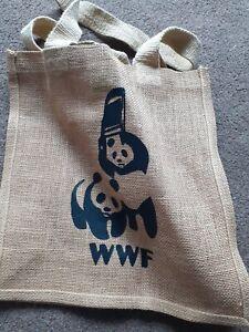 Westford mill jute bag wwe/wwf/funny