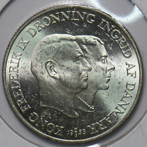 Denmark 1953 2 Kroner Foundation for the Campaign against Tuberculosis in Greenl