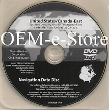 2005 to 2010 Chevrolet Corvette Z06 ZR1 & Cadillac STS Navigation DVD EAST Map