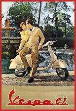VESPA SCOOTER 1963 Poster Print